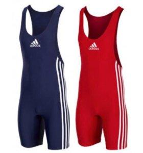 Новое борцовское трико Adidas