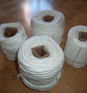Шнур плетеный 16-ти прядный полипропиленовый