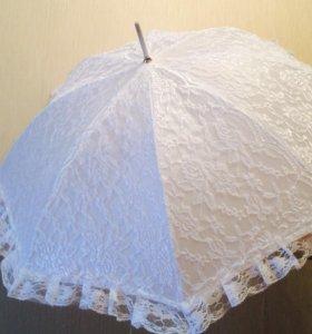 Свадебный зонт для фотосессии !