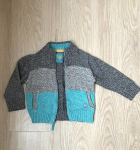Джемпер свитер на молнии 80 размер