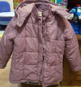 Куртка теплая на девочку