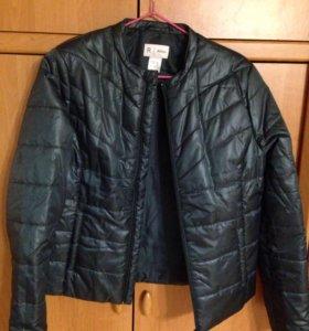 Куртка демисезонная зеленая