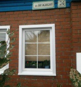 Металлические откосы на окна