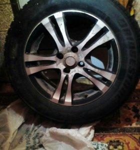 Шипованные колеса на литых дисках