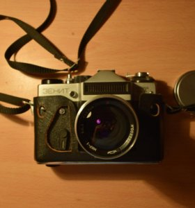 Фотоаппарат ZENIT ET + объектив МИР-1