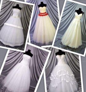 Свадебные платья 14шт.