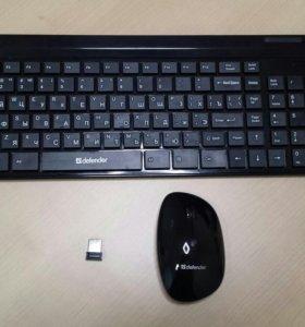 Клавиатура и мышь беспроводные. Bluetooth.