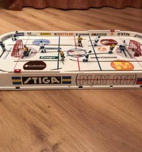 Новый настольный хоккей Stiga play off