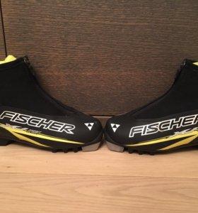 Ботинки для беговых лыж Fischer детские