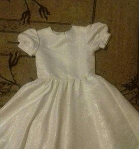 Платье на девочку 2-3года