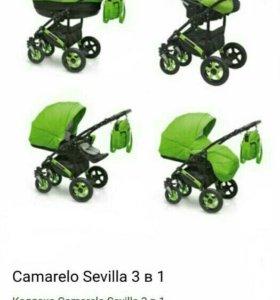 Коляска Camarelo Sevilla 3 в 1