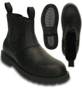 Crocs Новые кожаные ботинки