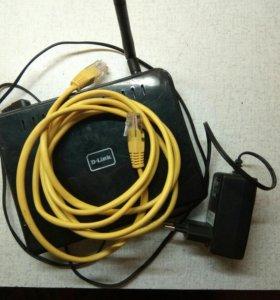 Беспроводной маршрутизатор 802.11g DIR-300