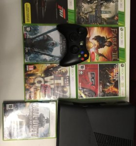 X-box 360 slim 250 gb