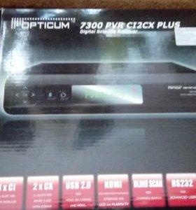 Тюнер Opticum 7300 PVR C12CX и Continent HD TV