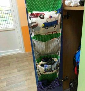 Кармашки на шкафчик в детский сад