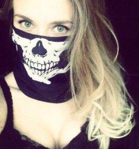 Бафф, шарф, маска