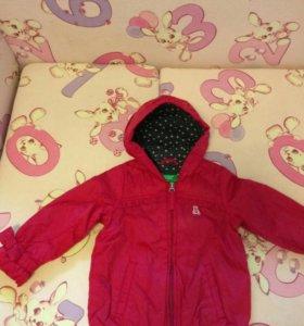 Курточки для девочки