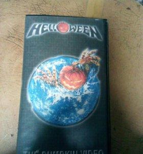 Видеокассета Helloween the pumpkin video. VHS.