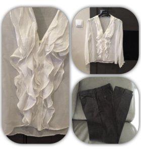 Рубашка блузка 42/44