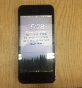 Замена дисплея iPhone 5s(запчасть+работа)