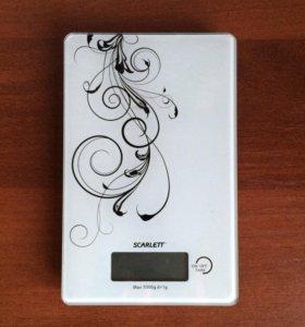 Весы кухонные SCARLETT SC-1212