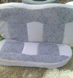 Заднее сиденье на матиз