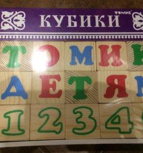 Кубики Томик