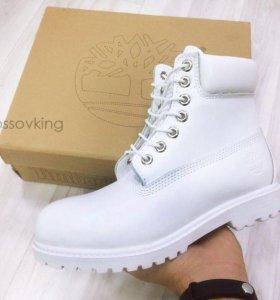 Timberland 6 Inch Premium Boot White