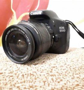 Продам EOS 550D EF-S 18-55 IS KIT