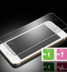 Стекло защитное для iphone 5, 5s, 5se