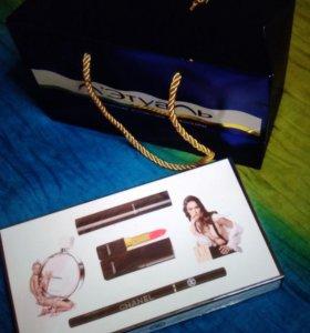 Набор Chanel, косметика и парфюм