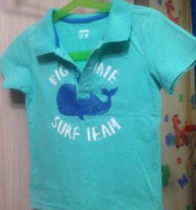 Поло и рубашка для мальчика