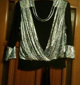 Блуза, размер 50-52