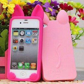 Чехол силиконовый на iPhone 5, 5s
