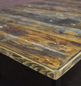 Стол, тумба, стеллаж из дерева и металла