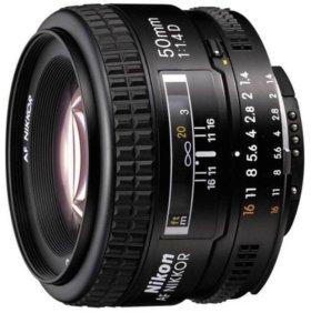 Объектив Nikon 50mm 1.4D AF