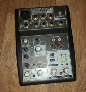 Микшерный пульт xenyx502