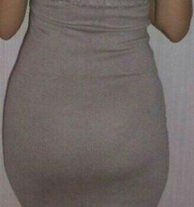 Платье тёплое .