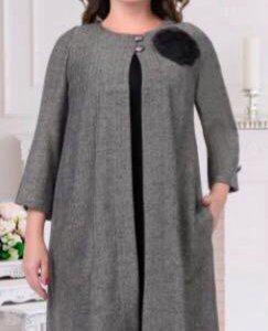 Платье+кардиган