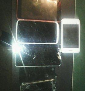 Телефоны на запчасти по 400 р