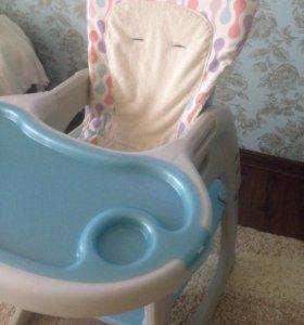 Детский столик для кормления 2в 1