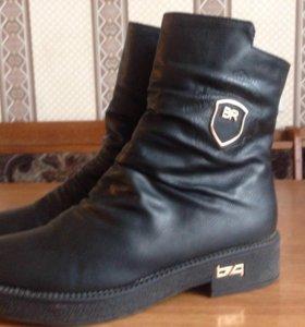 Ботинки зимнии р39