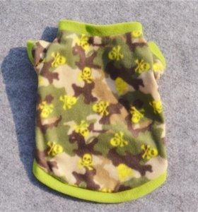 Флисовая футболка Камуфляж