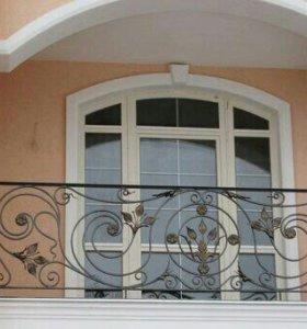 Балкон. Ковка