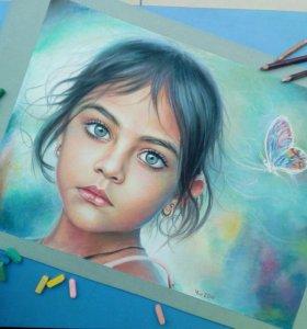Нарисую портрет по Вашему фото