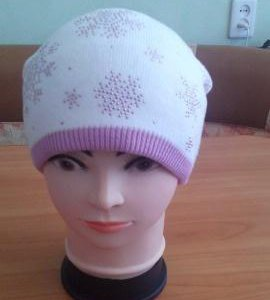 Новая шапочка на флисе