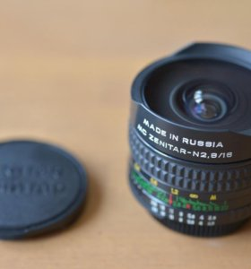 MC Zenitar-N 2.8/16 Fish-Eye под байонет Nikon