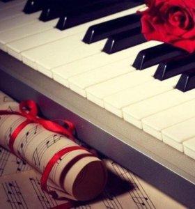 уроки игры на фортепиано, сольфеджио, вокал для де