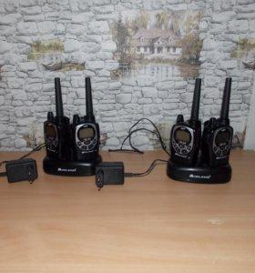 Продам переносные радиостанции Midland GXT1000